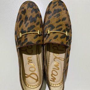 NWT Sam Edelman cheetah loafers
